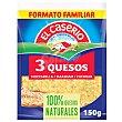 Queso rallado mezcla (mozzarella, maasdam y cheddar) 130 g El Caserío