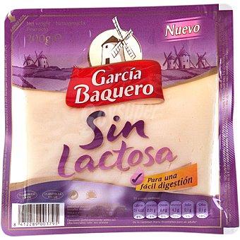 García Baquero Queso tierno sin lactosa cuña 200 g