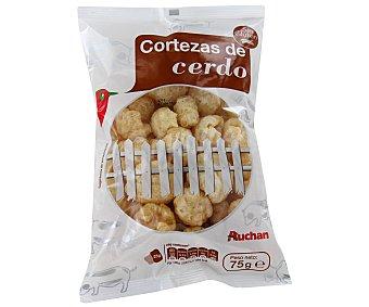 Auchan Corteza de cerdo sin gluten Bolsa de 75 gramos