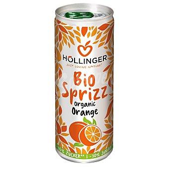 Hollinger Bio Sprizz refresco de naranja ecológico con gas Lata 25 cl