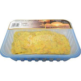 BRISA DORADA Tortillitas de camarones caseras bandeja 6