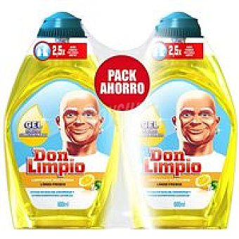 Don Limpio Limpiador concentrado limón Pack 2x600 ml