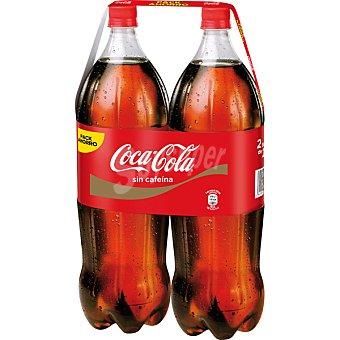 Coca-Cola Coca Cola Sin Cafeína 2 botellas de 2 l