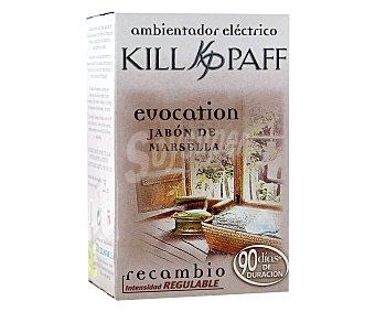 Kill-Paff Recambio ambientador eléctrico Jabón de Marsella 1 Unidad
