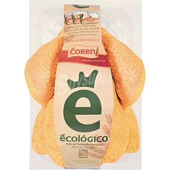 COREN pollo limpio para asar ecológico peso aproximado  bandeja 1,5 kg