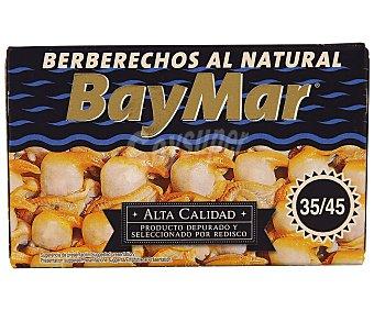 Baymar Berberechos al natural 35-45 pzs. 65 g