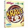 Cereales de desayuno rellenos de chocolate blanco Paquete 400 g Trésor Kellogg's