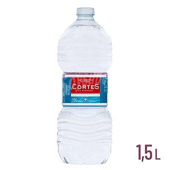 Cortes Agua mineral natural  Botella 1.5 l
