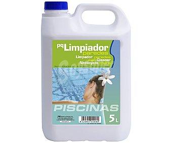 Pqs Limpiador desincrustante para paredes de piscinas, que elimina con facilidad los residuos de grasa y cal 5 litros