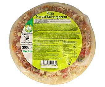 Productos Económicos Alcampo Pizza congelada margarita (salsa de tomate, tomate y calabacín) 300 gr