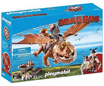 Playmobil Escenario de juego Dragons, incluye figura y accesorios.playmobil.