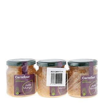Carrefour Brotes de soja Pack de 3x100 g