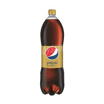 PEPSI Refresco de cola light sin cafeína botella 2 l