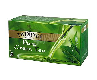 Twinings Té verde de Java Caja 25 sobres