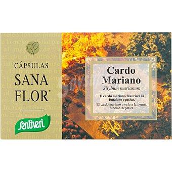 Santiveri Sanaflor Cardo Mariano favorece la función hepática ápsulas envase 40 c