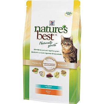 HILL'S NATURE'S BEST ADULT Alimento especial formulado para mantener la forma física de los gatos adultos con atún Bolsa 2 kg