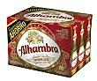 Cerveza premium lager Pack 12 x 25 cl Alhambra
