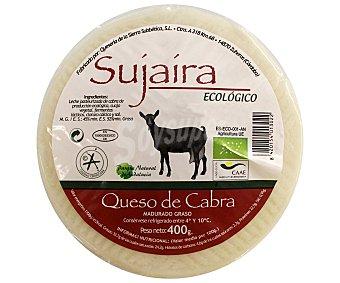 SUJAIRA Queso de cabra ecológico 400 gramos