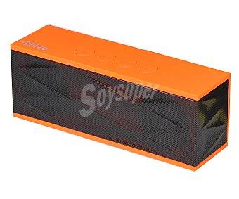 QILIVE DC0402 Mini altavoz 853700 por batería, conector USB y auxliar 3,5(mm), Bluetooth, color rojo