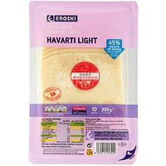 Eroski Queso Havarti light Bandeja 300 g