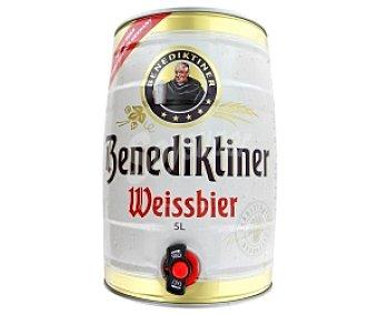 BENEDIKTINER Cerveza de trigo 5 litros