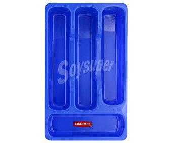 Curver Bandeja pequeña color azul para cubiertos 1 Unidad
