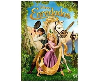 ANIMACIÓN Película en Dvd Enredados, Disney. Género: infantil, familiar, animación. Edad: TP