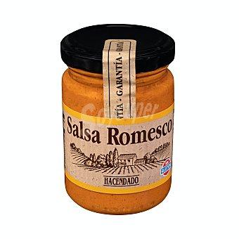 Hacendado Salsa romesco Tarro 130 g