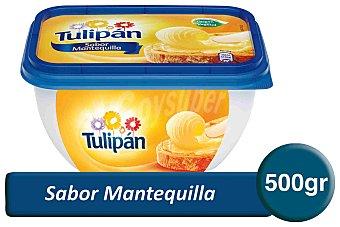 Tulipán Margarina sabor mantequilla Tarrina 500 g
