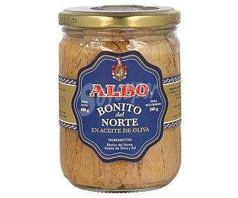 Albo Bonito del norte en aceite de oliva Frasco 260 g neto escurrido