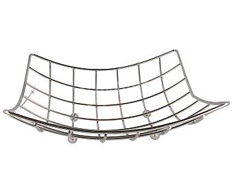 VERSA Frutero cuadrado fabricado en acero inóxidable 1 Unidad