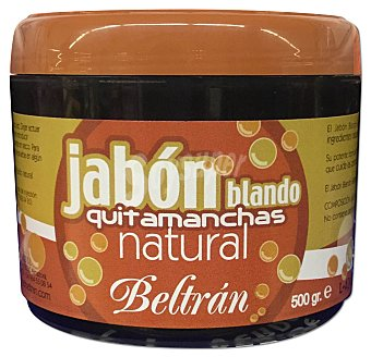 Beltran Jabon ropa blando potasico pasta negra Bote 450 g