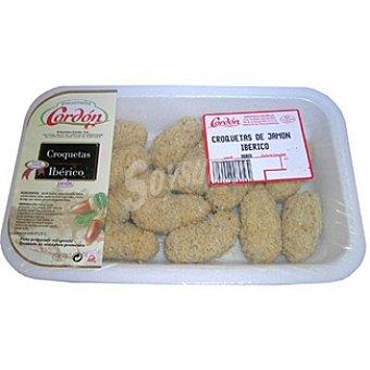Cordon Croqueta de jamón ibérico Bandeja 300 g
