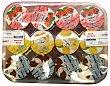Yogur liquido ( 4 fresa 4 coco 2 manzana 2 limon) Pack 12 x 125 g - 1,5 kg Celgán