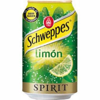 SCHWEPPES Spirit Refresco de limón Lata 33 cl