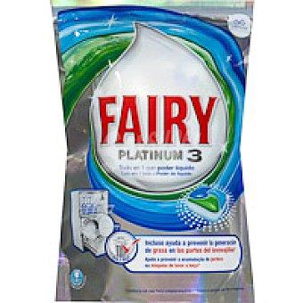 FAIRY Platinum 3 Lavavajillas máquina Bolsa 36 dosis + 50%