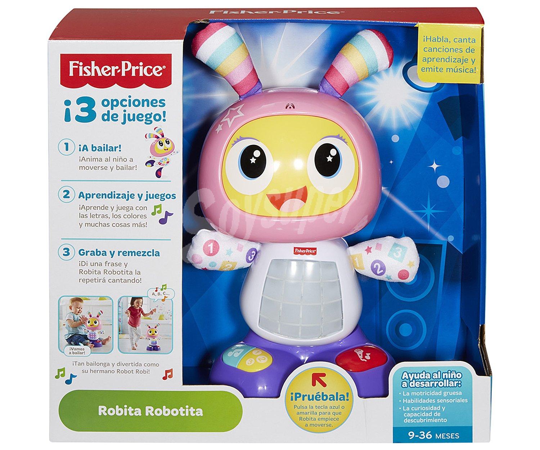 Fisher Price Robot Interactiva Robita Robotita Con Luces Sonidos Y