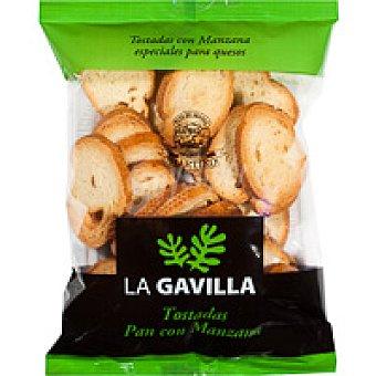 La Gavilla Pan tostado con manzana Paquete 100 g