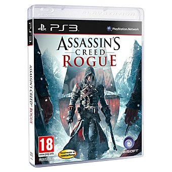 PS3 Videojuego Assassins Creed Rogue  1 unidad