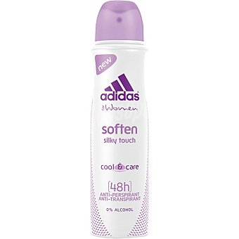 Adidas Desodorante Action 3 Women Soften silky touch anti-transpirante sin alcohol spray 150 ml Spray 150 ml