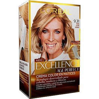 Excellence L'Oréal Paris Tinte age perfect nº 9.31 Rubio Claro Dorado 1 ud