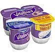 Yogur Natural Cremoso Edulcorado Vitalinea de Danone 4 unidades de 125 g Vitalínea Danone