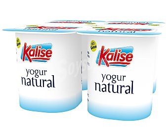Kalise Yogur natural Pack 4 x 125 g
