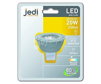 JEDI Bombilla led foco 3,5 Wattios, casquillo GU5.3, luz cálida 1 Unidad