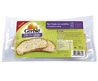 Gerblé Pan payés sin gluten Paquete 350 g