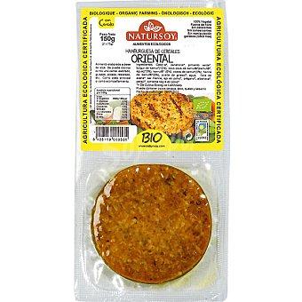 Natursoy Hamburguesa de cereales oriental pack 2 unidades Pack 2 unidades (Estuche 150 g)