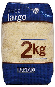 HACENDADO Arroz largo tamaño ahorro Paquete 2kg
