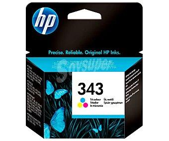 HP Cartucho de Tinta 343 - Tricolor 1 ud