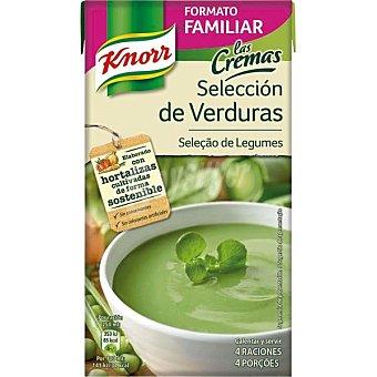 KNORR LAS CREMAS Crema selección de verduras 4 raciones Envase 1 l