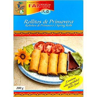 Fanya Rollitos de primavera estuche 200 g Estuche 200 g